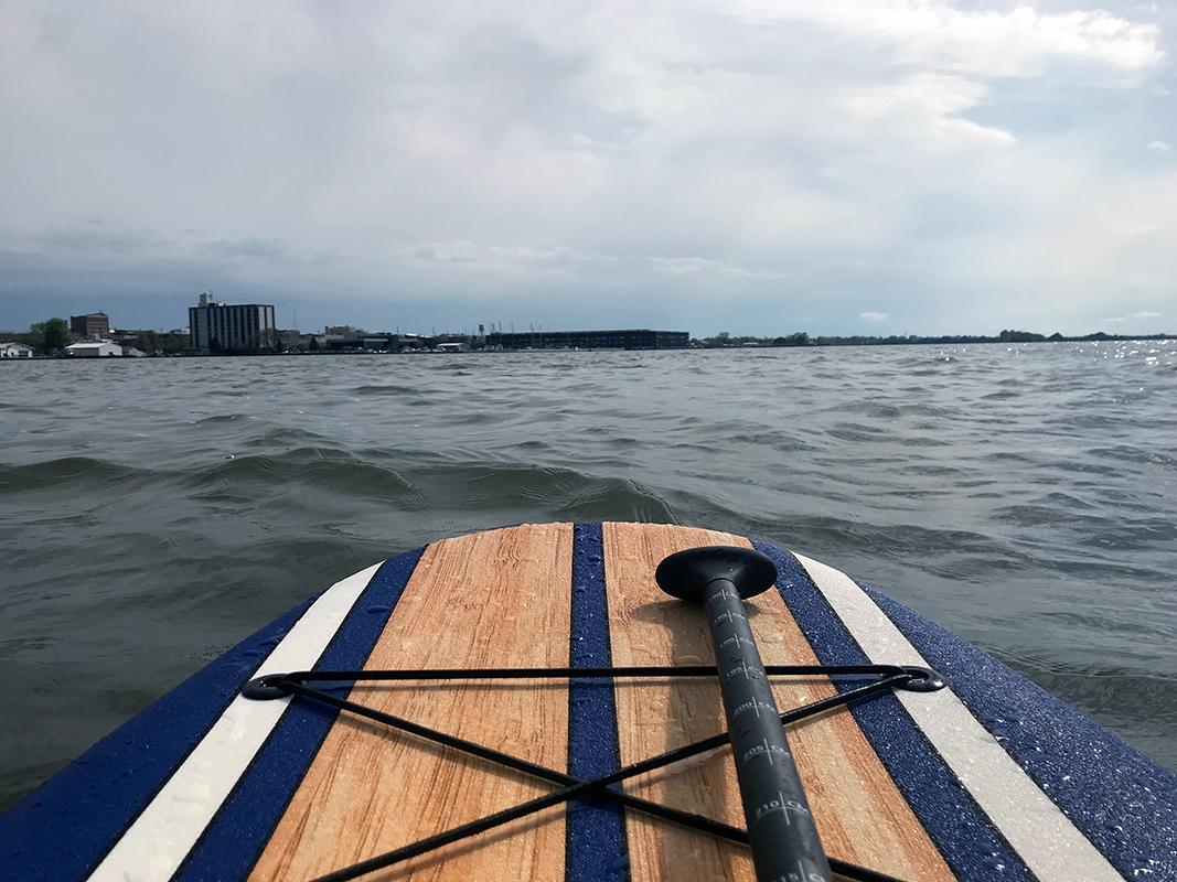 Paddle Climb Stand Up Paddleboard Sandusky
