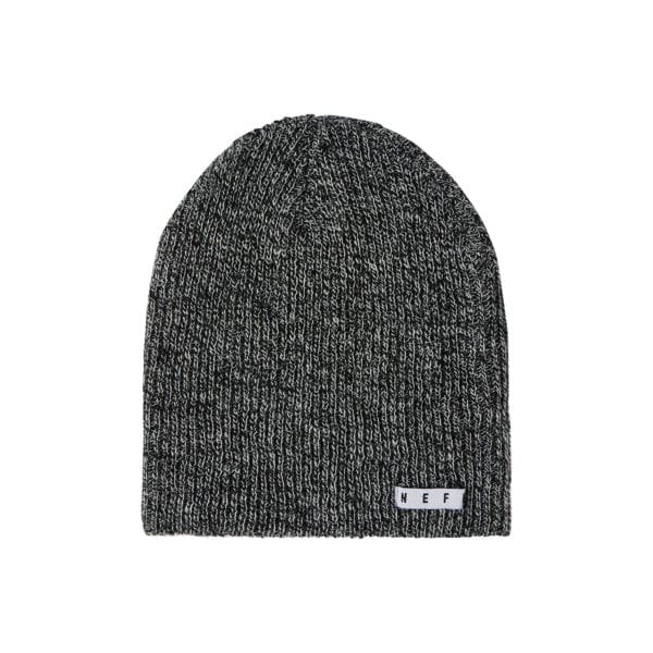 Neff Daily Heather Beanie Black White