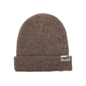 Neff Heather Fold Beanie Pine Twill
