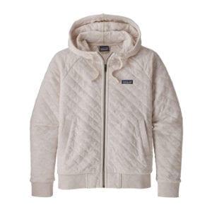 Patagonia Organic Cotton Quilt Hoody Birch White