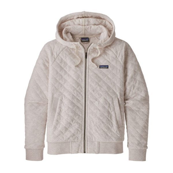 Patagonia Organic Cotton Quilt Hoody Birch White