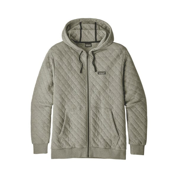 Patagonia Organic Cotton Quilt Hoody Shale