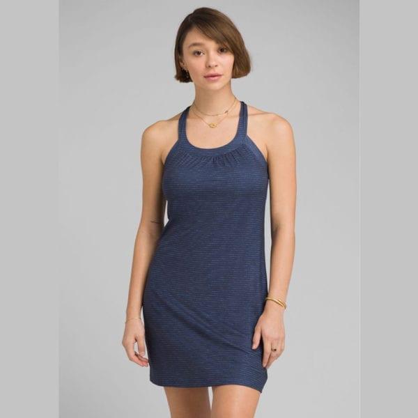 Prana Cantine Dress Blue