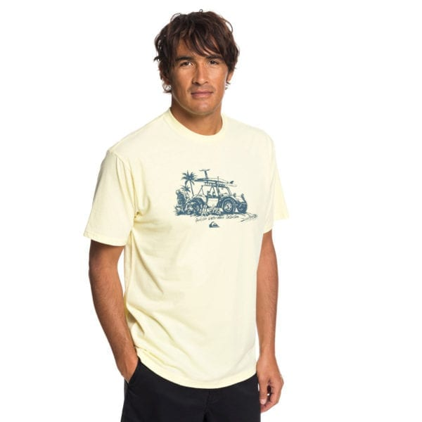 Quiksilver Waterman Collection Traveller SS Tee