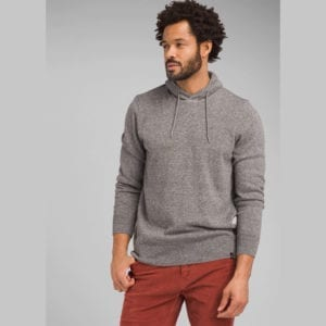 prAna Mens Kaola Hooded Sweater