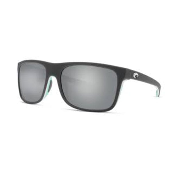 Costa Del Mar Remora Matte Grey White Mint Frame Silver Mirror Grey Lens 580p